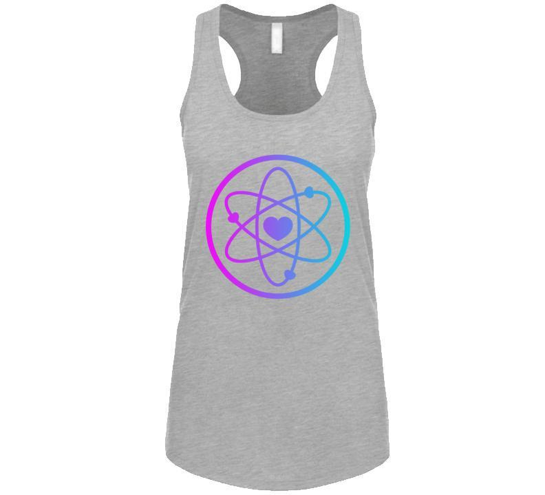 Love Is Power Tank for Ladies-T-Shirt-Back To Zen
