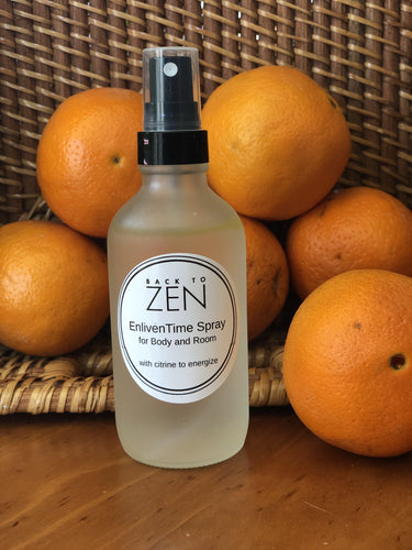 EnlivenTime Spray to Energize-Spray-Back To Zen