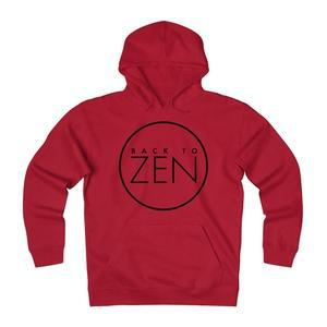Back To Zen Unisex Heavyweight Fleece Hoodie-Hoodie-Back To Zen