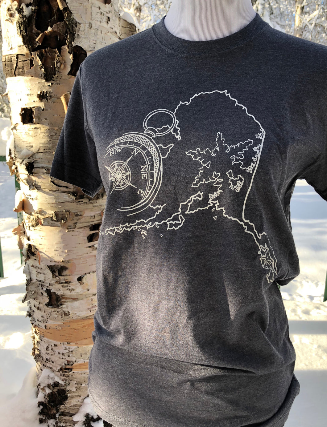 Frozen Tides T-Shirt - Blue Gray