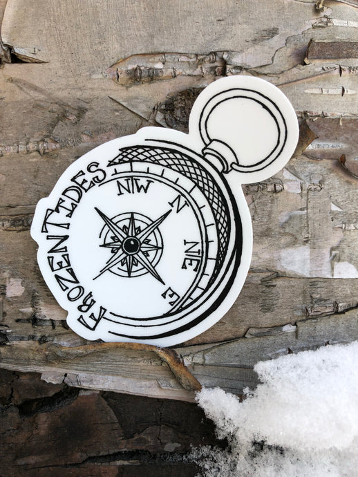 Frozen Tides Logo Sticker