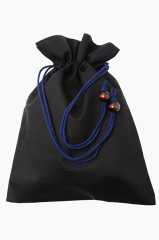 Men Kinchaku pouch / Black