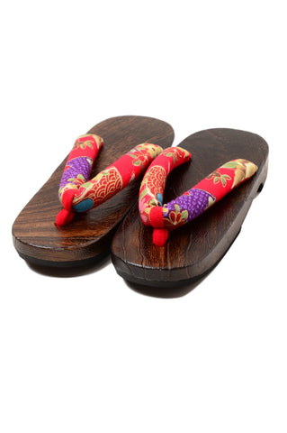 Geta sandal : Kids Large / L #01