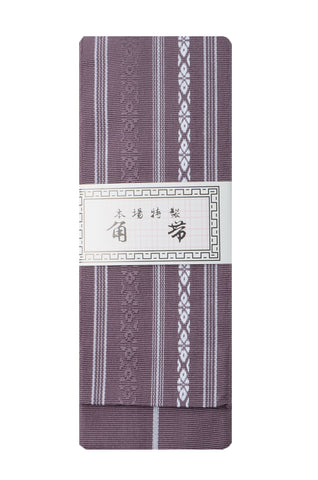 Men obi / Kenjou pattern : Purple