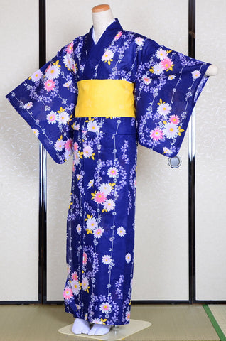 Yukata and obi and Geta set / ST #505
