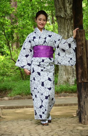 Yukata and obi and Geta set / ST #507