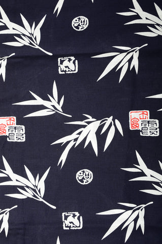 Yukata for indoor use / sasani-hanko :YB481