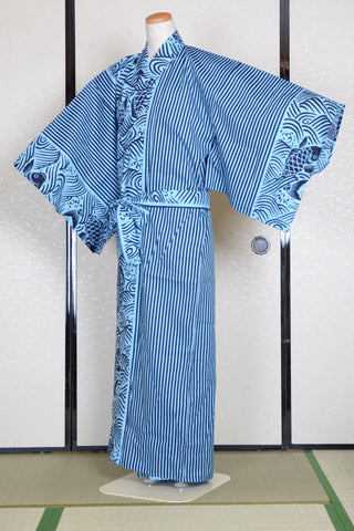Yukata for indoor use / koi :YC911