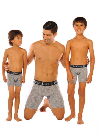 Boxer Briefs Matching Stretch Underwear Set