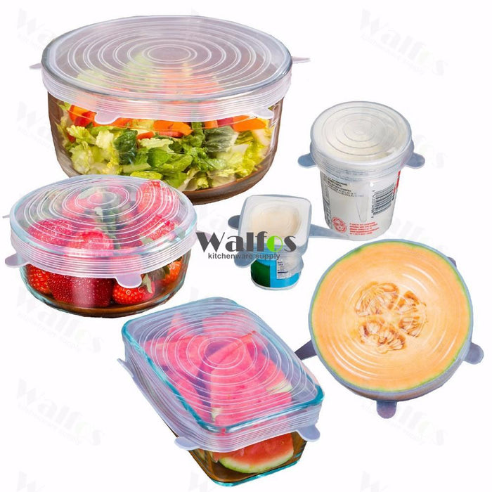 Silicon stretch lids - Shopelo.com