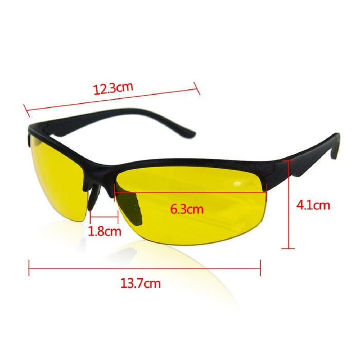 Night Sight7S Polarized Anti-Glare HD Night Driving Glasses - Shopelo.com
