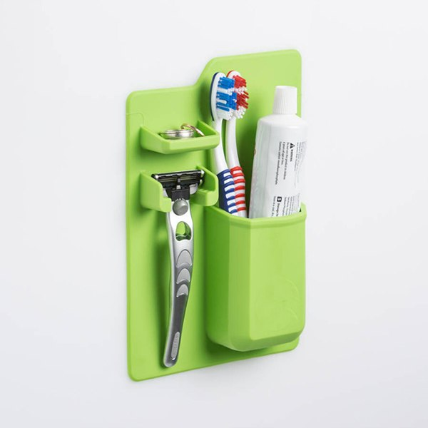 Bathroom Organizer Toothbrush Holder - Shopelo.com