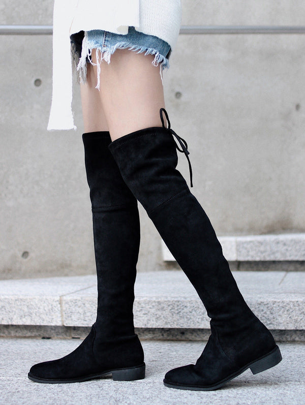 (30% off) asuni, Premium Quality 2.0 Tieland Over the Knee Boots
