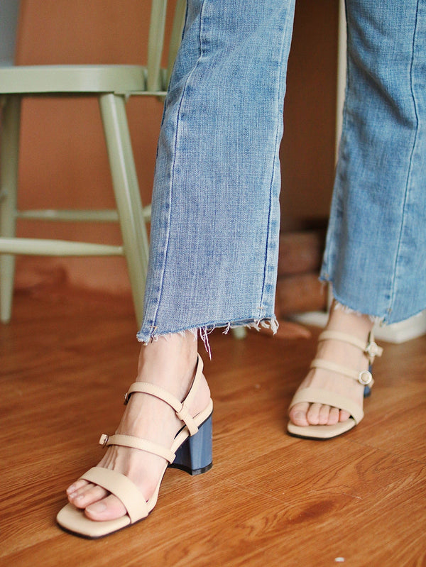 Mini High Rise Mom Jeans