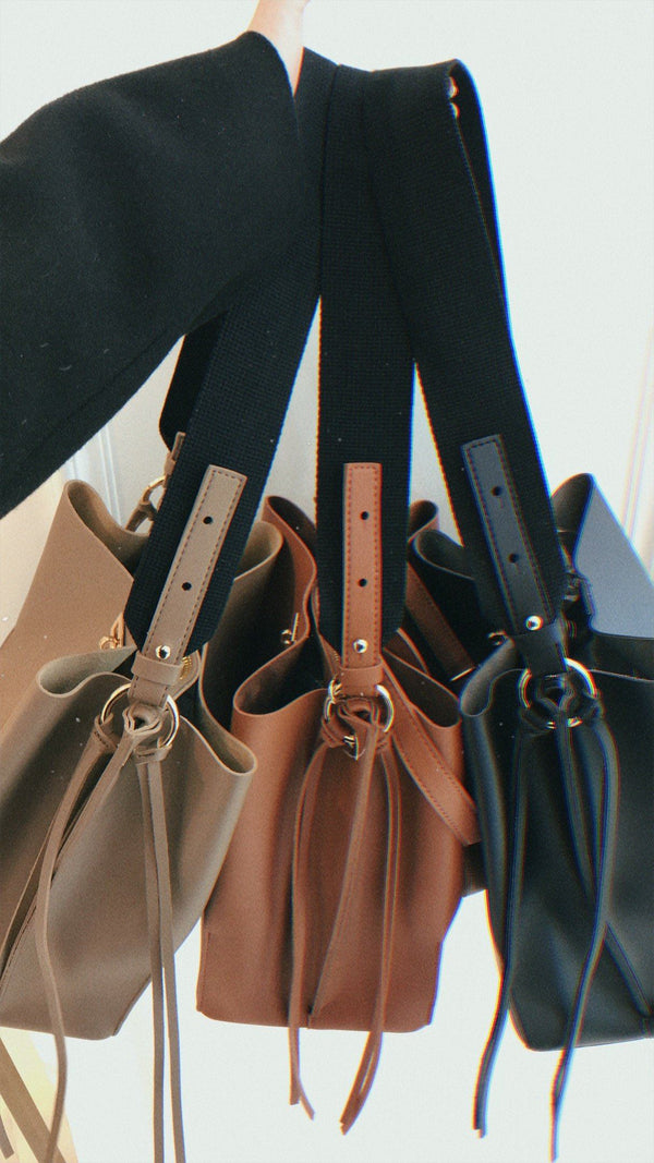 Tassel Detail Tote Bag