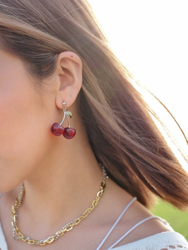 Cherry Your Heart Earrings