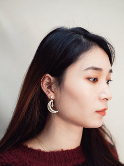 Moon x Star Earrings (In stock)