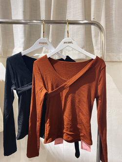 Cross Neck Thermal Top