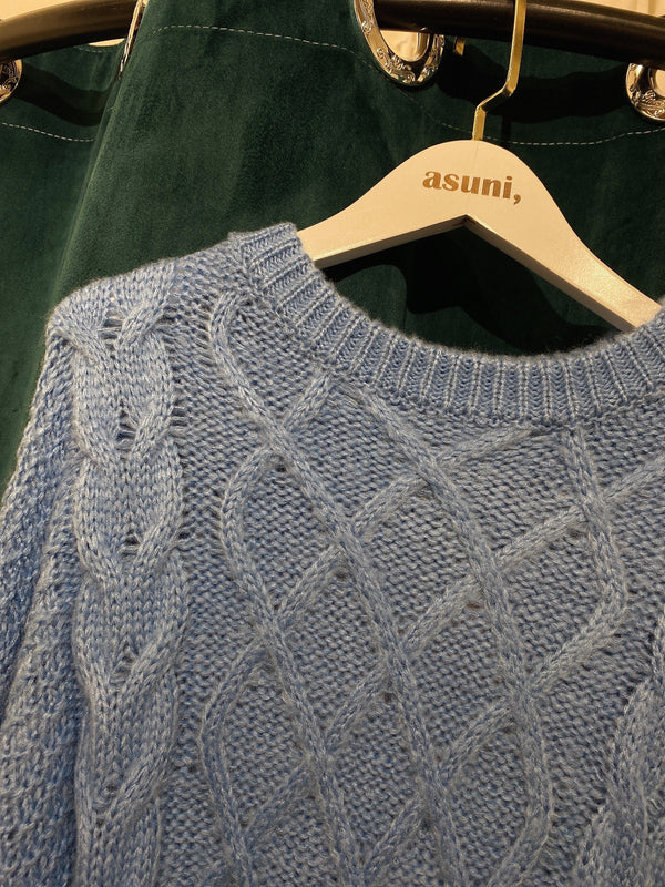 Oversized Knitwear In Blue