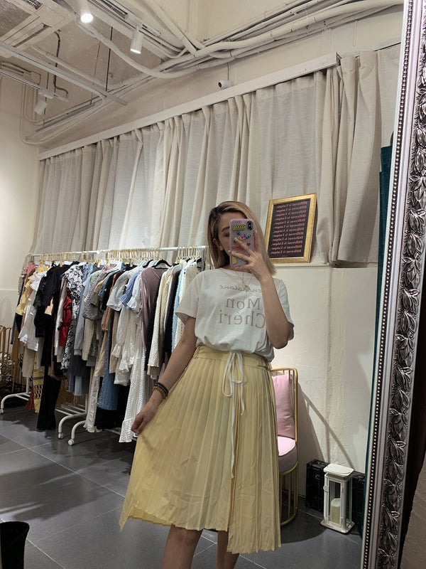 Baby Yellow Skirt