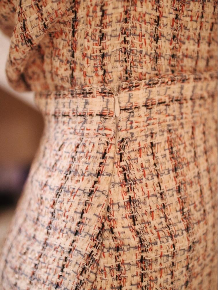 Tweed Top & Skirt Set