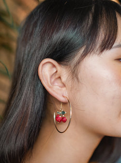 Cherry x Hoop Earring