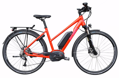 Bosch city E-bike Trapez