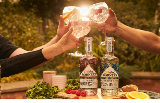 Introducing NEW 0% Botanic Garden Spirits
