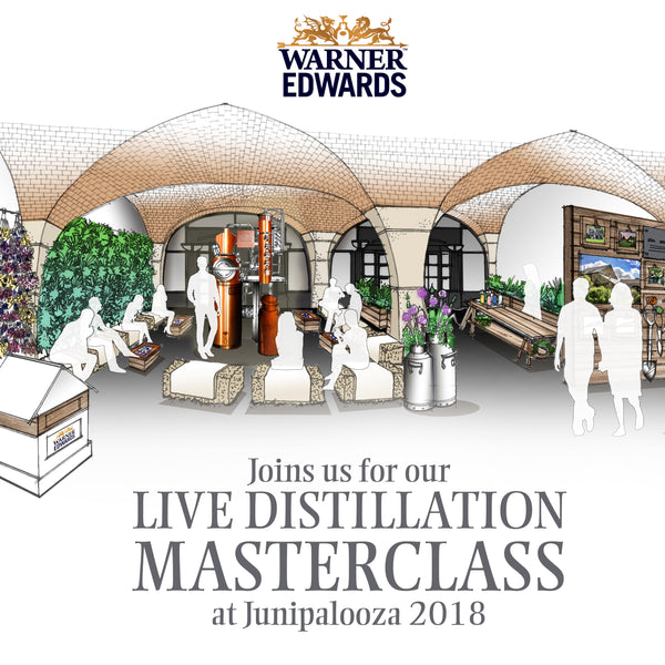 Warner Edwards Distilling Live at Junipalooza 2018