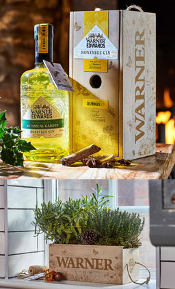 Warner Edwards Honeybee Gin Gift of Nature Edition Box
