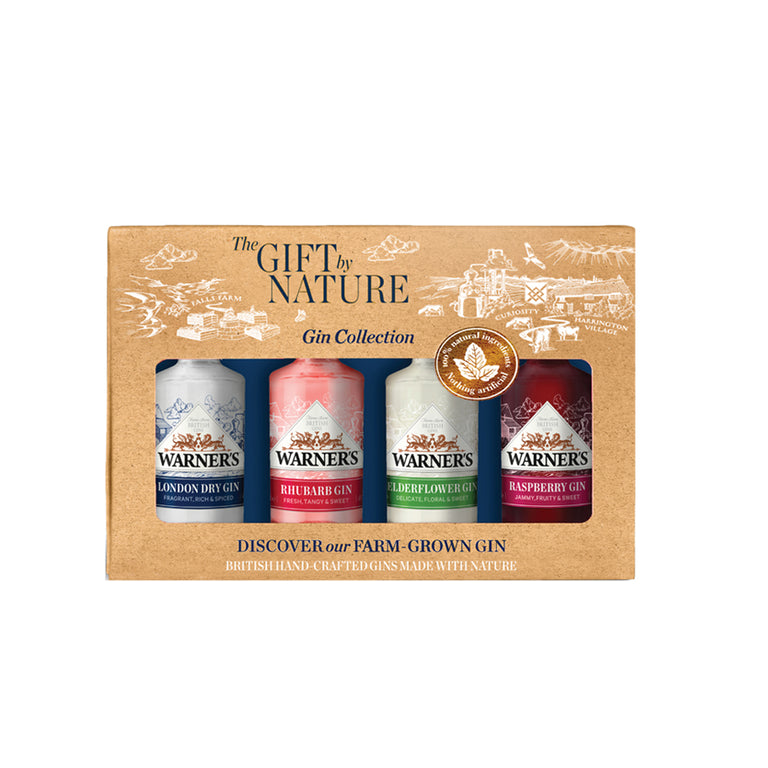 Gift of Nature Gin Gift Set (4 x 5cl)