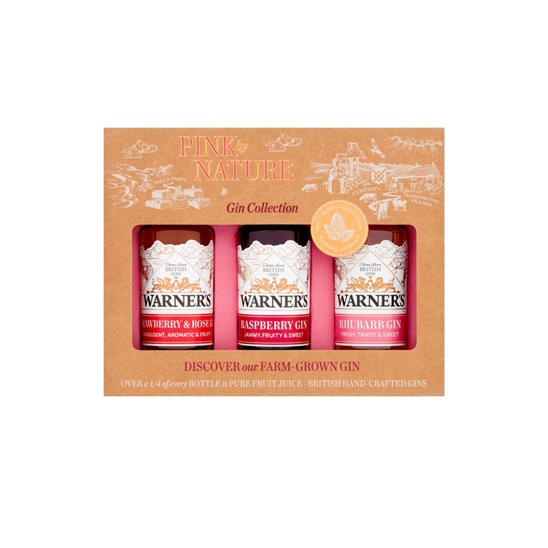 PINK by NATURE Pink Gin Gift Set (3 x 5cl)