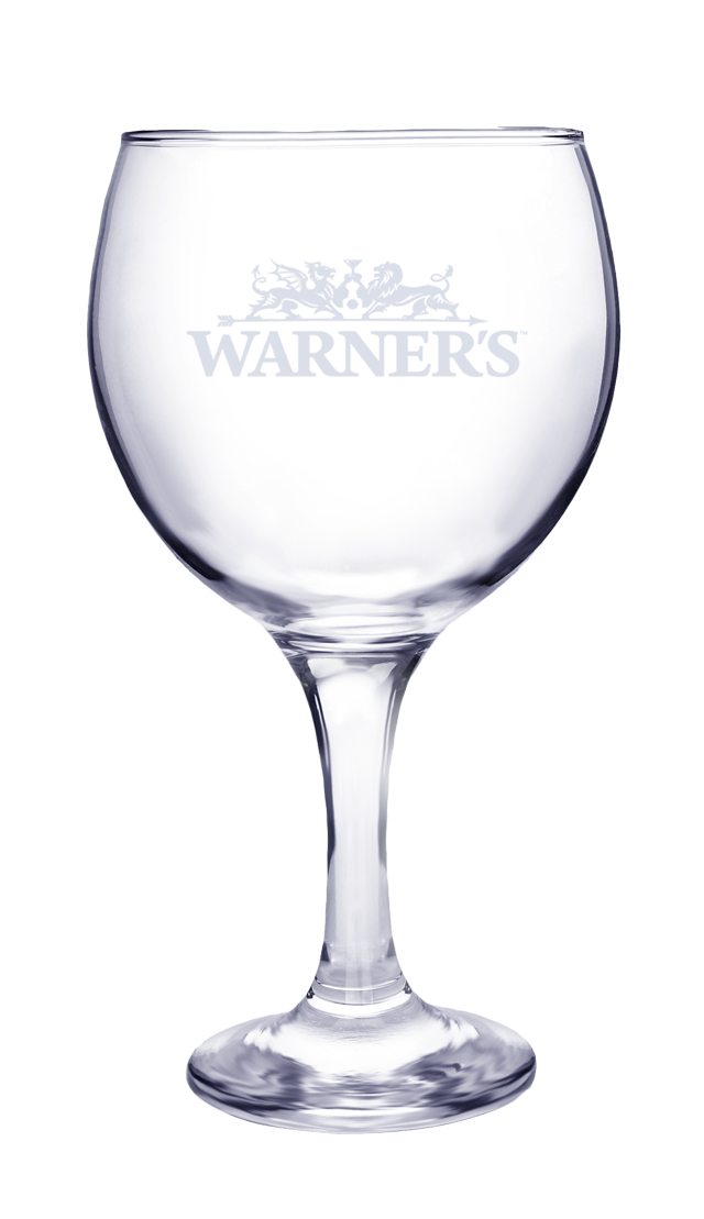 Warner's Branded Copa Gin and Tonic Glass #default