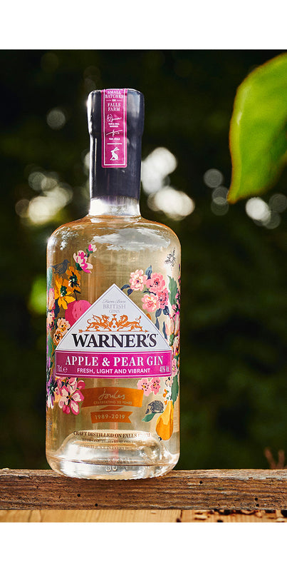 Warner's X Joules Apple and Pear Gin
