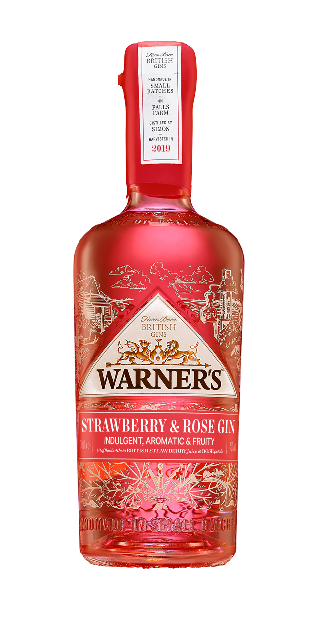 Warner's Strawberry and Rose Gin #default