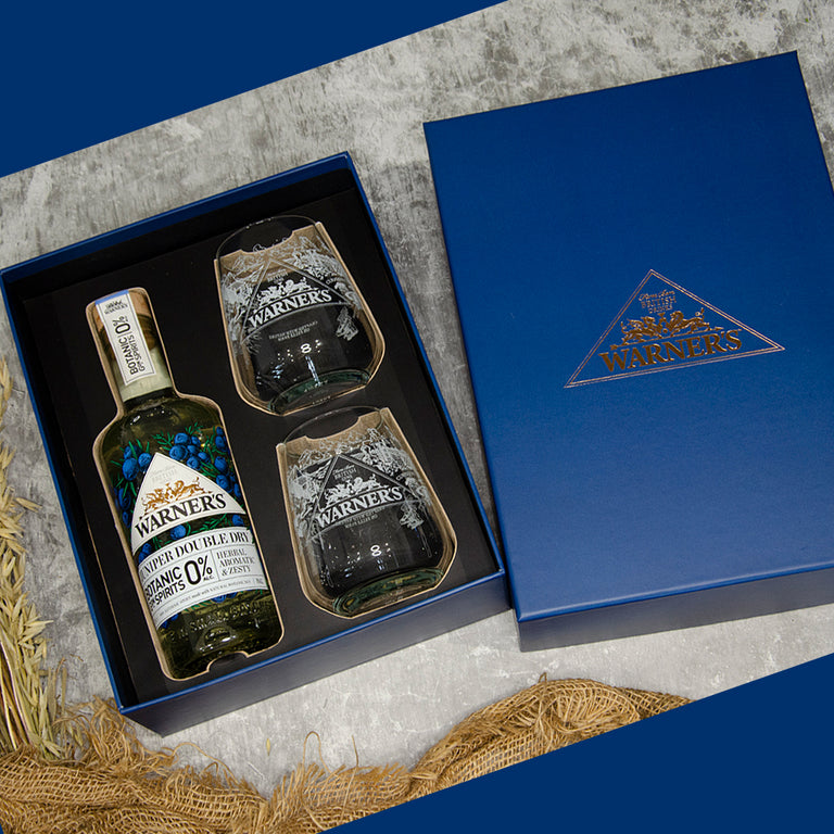 Warner's Juniper Double Dry 0% Gift Set