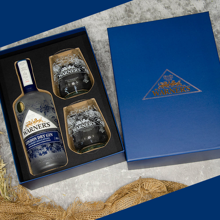 Warner's London Dry Gin Gift Set