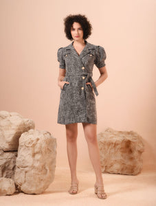 Vuptown Short Sleeves Dress
