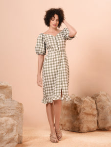 Venice Short Sleeves Dress