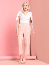 Load image into Gallery viewer, Staupe Short Sleeve Pantsuit