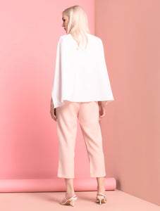 Staupe Short Sleeve Pantsuit