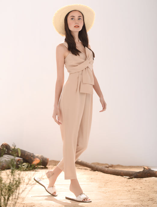 Libra Sleeveless Pantsuit