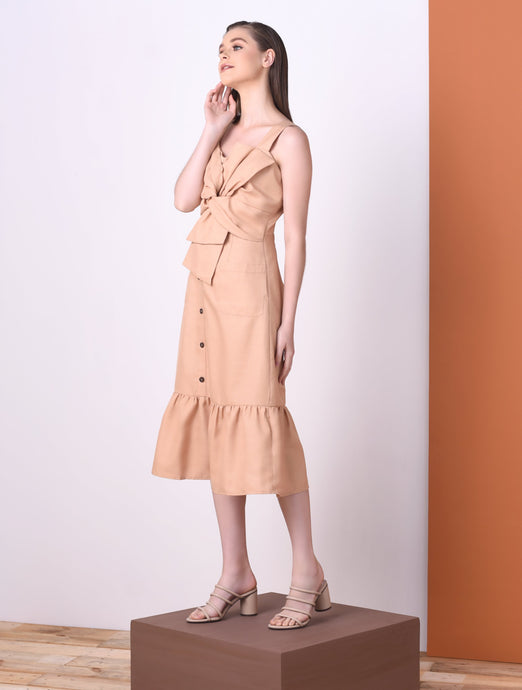 Oak Sleeveless Dress