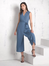 Load image into Gallery viewer, Ruffle Sleeveless Pantsuit