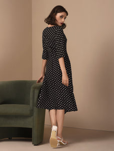Union Quarter Sleeves Dress
