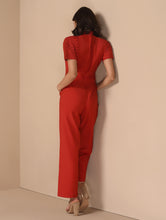 Load image into Gallery viewer, Upper Short Sleeves Pantsuit