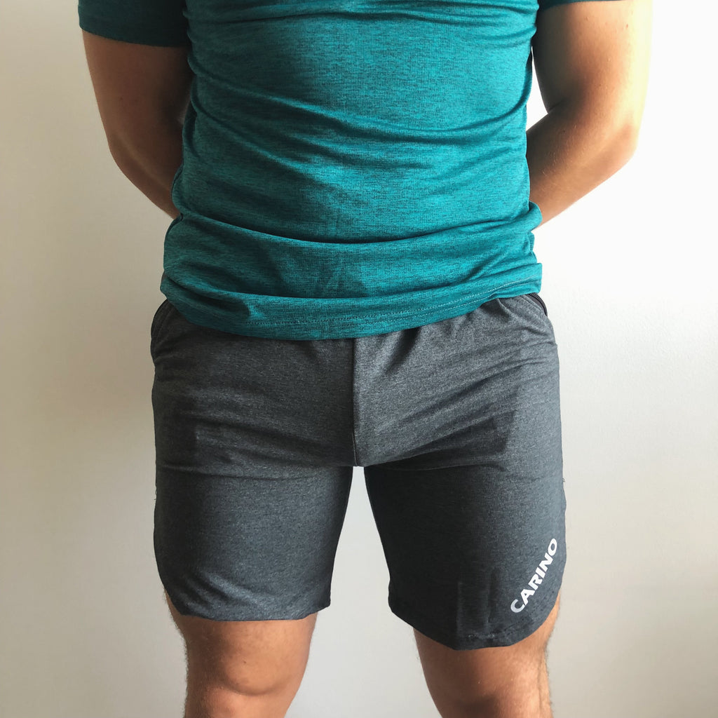 Charcoal Racer Shorts