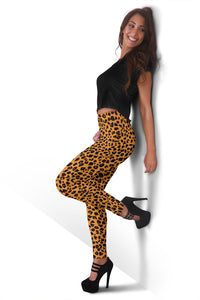 CHEETAH Animal Print Leggings - Her Athletic Lifestyle