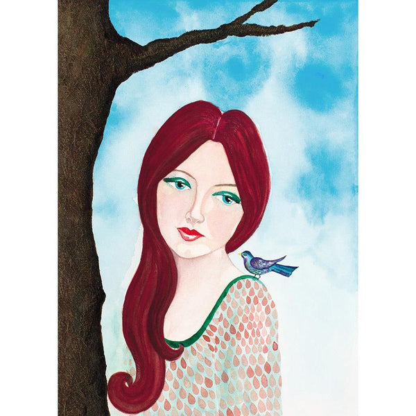 Wistful Giclee Fine Art Print by Sonya Bull Art