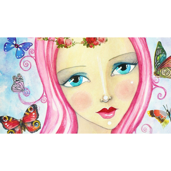 Butterfly Love Giclee Fine Art Print by Sonya Bull Art